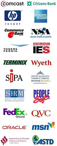 Marketing Speaker Logos
