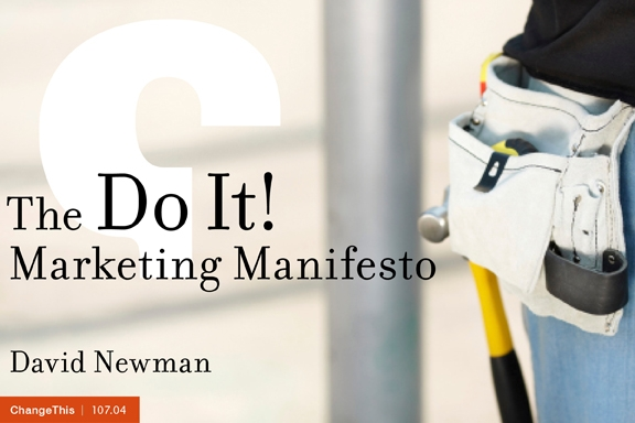 do it marketing manifesto